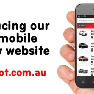 Introducing our mobile car hire website
