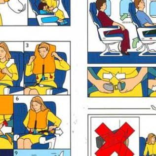 7 of the funniest in flight safety videos
