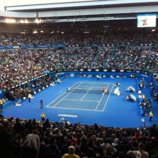 Melbourne in January – Tennis Anyone?