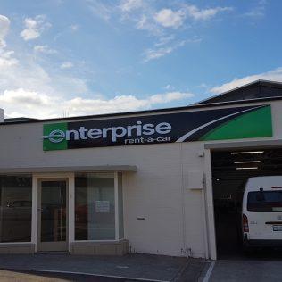 Enterprise Rent-A-Car Tasmanian CBD Expansion